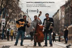 Martin Lubenov's Jazzta Prasta at 15 WOMEX SELECTION (cover)